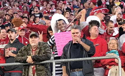 College Football Fan in Trump Mask Hangs Noose Around Obama