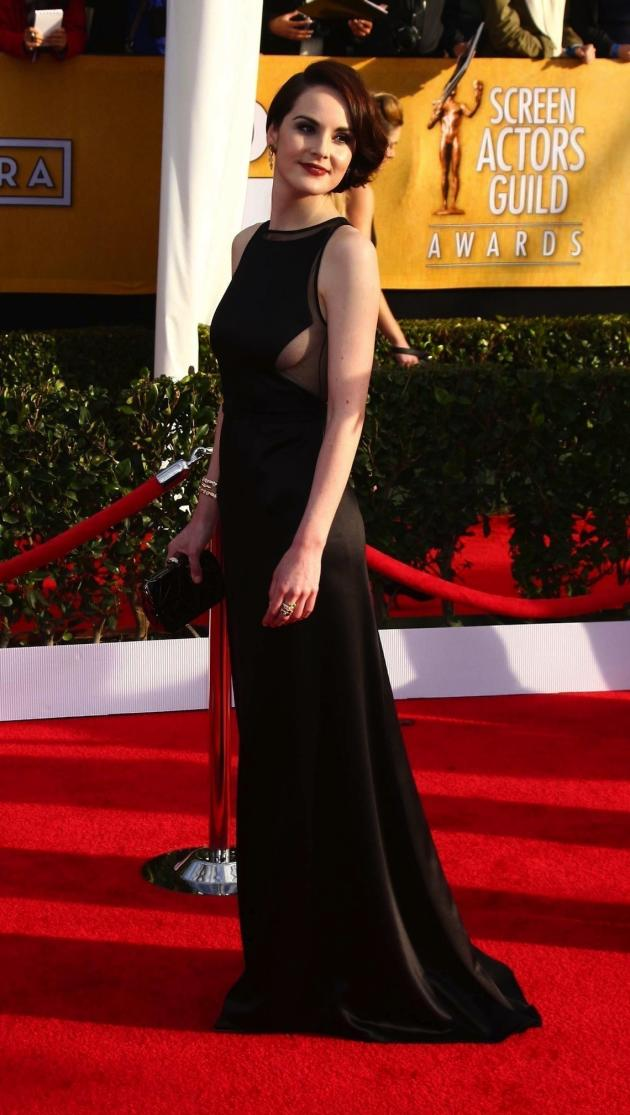 Michelle Dockery at the SAG Awards