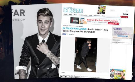 Justin Bieber: Secret Pregnancies SILENCED!