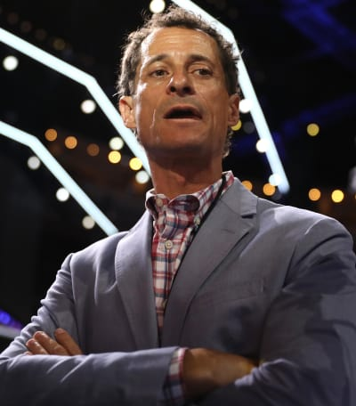 Anthony Weiner is Sweating