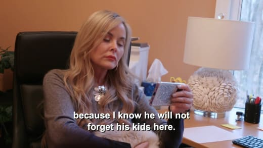 Emma to Stephanie Davison - because I know he will not forget his kids here