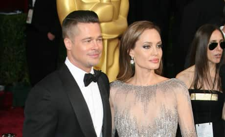 Brad Pitt and Angelina Jolie - 12 Years