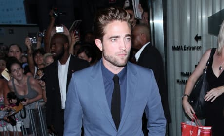 Robert Pattinson Cosmopolis Premiere Photo