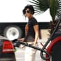Vanessa Hudgens Knows How to Pump it