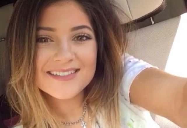Fresh Faced Kylie Jenner