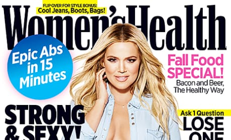 Khloe Kardashian Women's Health Cover