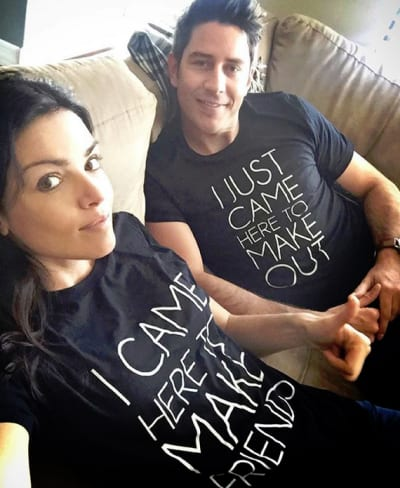 Arie Luyendyk Jr. and Courtney Robertson, Novelty Shirts