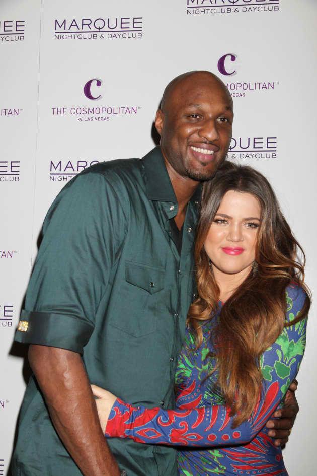 Lamar Odom and Khloe Kardashian Together