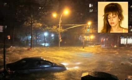 "Lady Gaga Laments Hurricane Sandy: ""My Childhood is Underwater"""