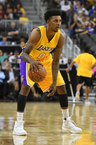 Nick Young in Action