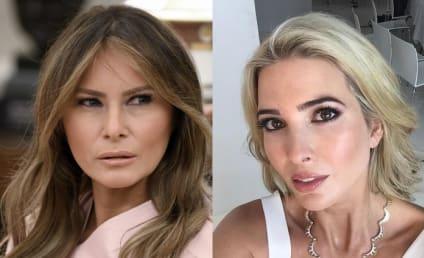 Melania Trump Laughs Off Ivanka's Claims of Influencing POTUS