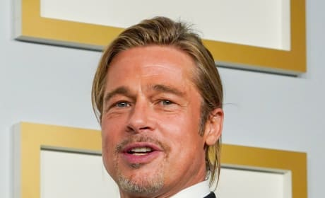 Brad Pitt at the Oscars