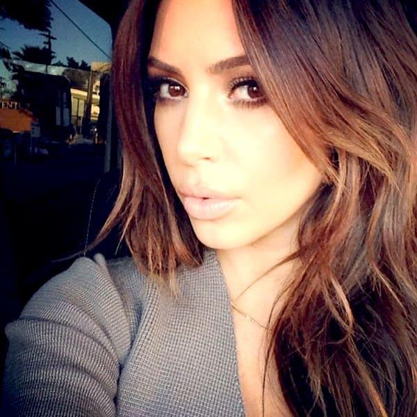 Kim Kardashian: Brunette Again!