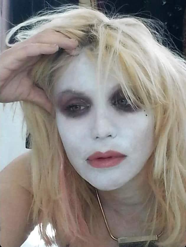 Courtney Love Face