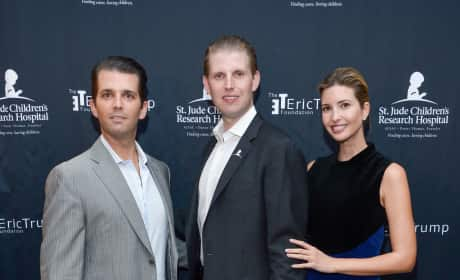 Ivanka Trump and Her Brothers