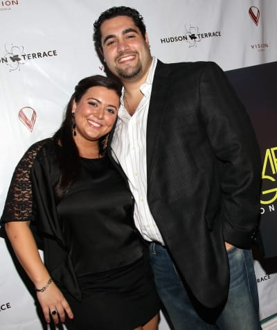 Lauren Manzo and Vito Scalia
