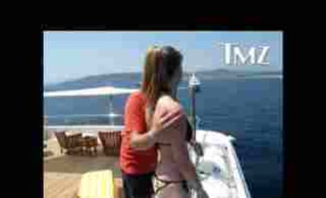DJ AM and Hayley Wood