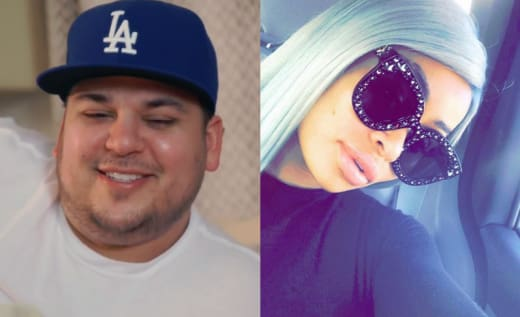 Rob Kardashian and Blac Chyna, Split