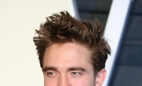 Robert Pattinson at a Party