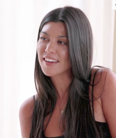 Kourtney Kardashian Talks