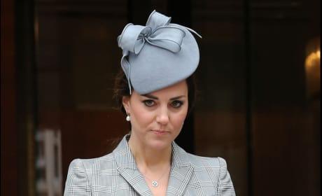 Kate Middleton at Buckingham Palace