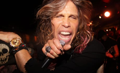 Steven Tyler Close Up