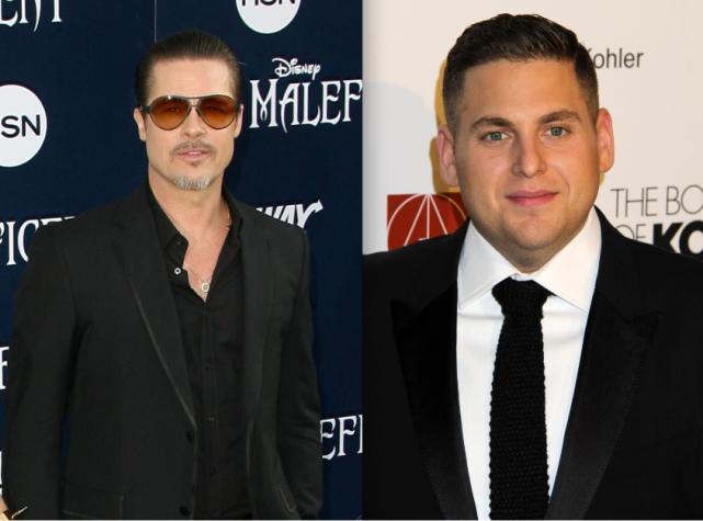 Brad Pitt and Jonah Hill