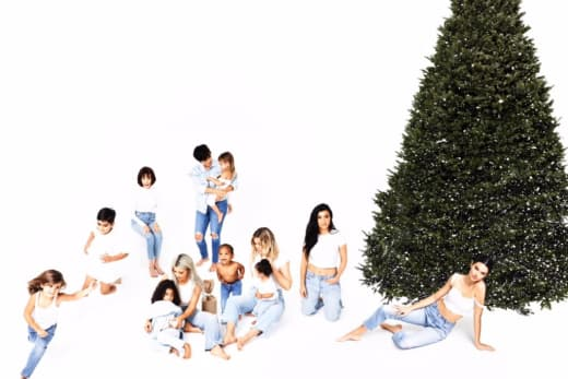 Kardashian Christmas Card 2017