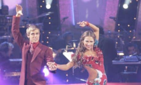 Cody Linley and Edyta Sliwinska