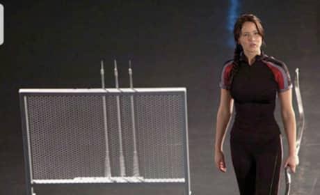 Katniss in Training