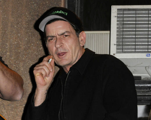 Charlie Sheen in Canada