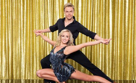 Nastia Liukin and Derek Hough