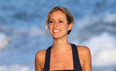 Kristin C. on the Beach