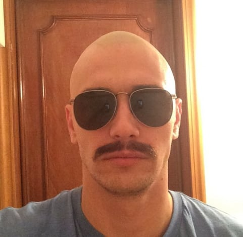 James Franco Bald