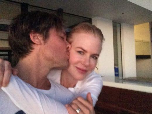 Keith Urban Kisses Nicole Kidman