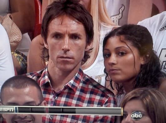 Steve Nash and Brittany Richardson