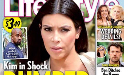 Kim Kardashian: Dumped (AGAIN!) While Pregnant (STILL!)