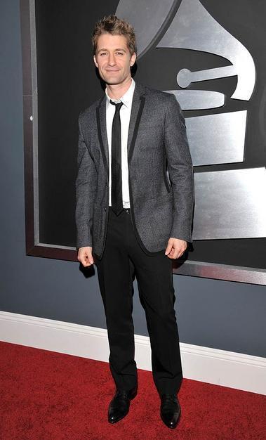Matthew Morrison at the Grammys