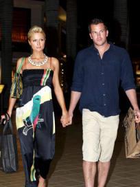 Doug Reinhardt and Paris Hilton Image