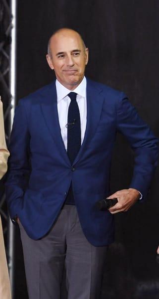 Matt Lauer in a Suit