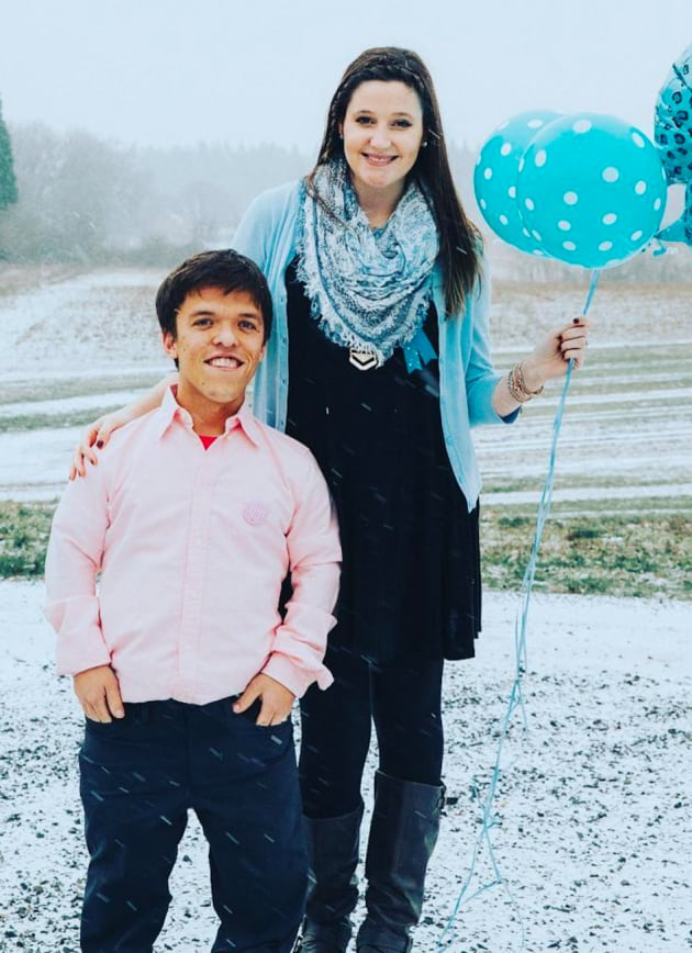 Zach roloff talks first baby will he be a dwarf the for Did zach and tori have a dwarf baby