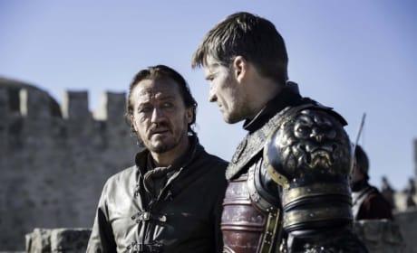 Jaime and Bronn Butt Heads