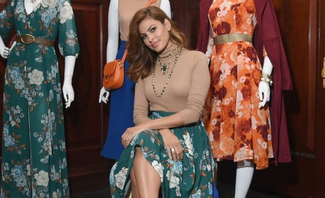 Eva Mendes New York Company Shoot