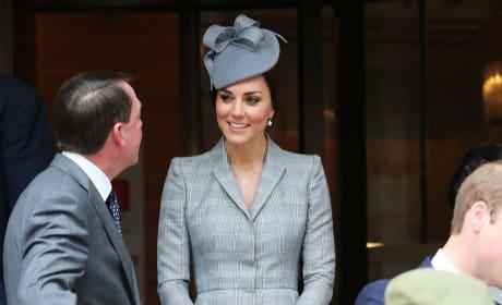 Kate Middleton Returns to Public Life