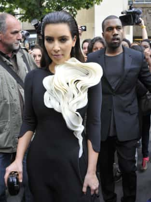 Hideous Kim Kardashian Dress