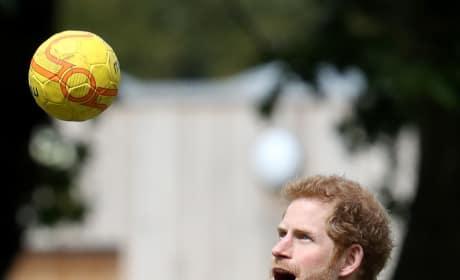 Prince Harry Has a Ball