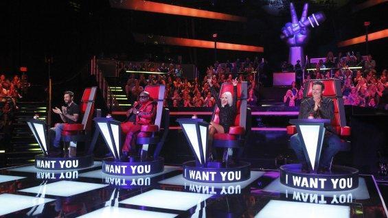 Voice Season 5 Coaches Photo