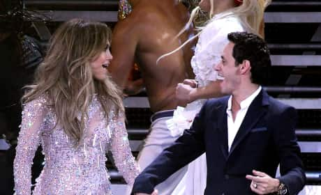 Jennifer Lopez and Marc Anthony Pic