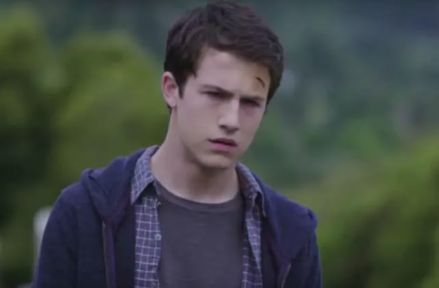 Dylan minnette on 13 reasons why