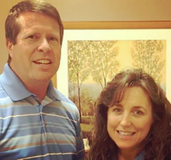 Jim bob duggar and michelle yellowed out